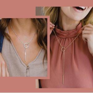 Nashelle Heather Drop Laria Necklace